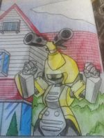 old Metabee by SoundwaveGirl