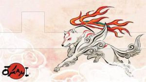 Okami PSP Wallpaper 01 by SulphurFeast