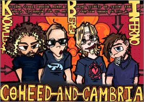 Coheed and Cambria by ioo22