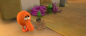 Poor Q*bert by lonelynightrain