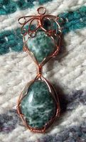 Wire pendant 76 by Kimantha333