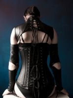 Blue and leather II by Bloodstained-Snow