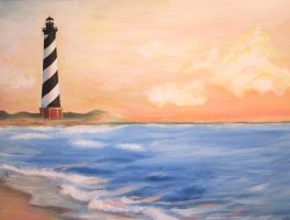 Hatteras lighthouse, NC by Celine23