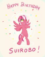 Happy Birthday Suirobo! by Edgedoodle