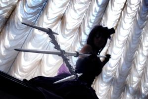 TYL! Chrome Dokuro cosplay  (Moulin Rouge style) by AliceBlacfox