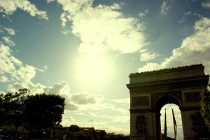 The Arc de Triomphe. by Lenny2412