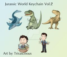 Jurassic World Keychain Vol2 by Trirasceous