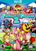 Super Pincess Peach 2 and Honor Guests by xeternalflamebryx