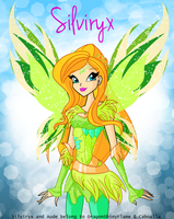 Winx: Aude Silviryx by DragonShinyFlame
