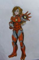 Pepper the Iron woman by minihumanoid