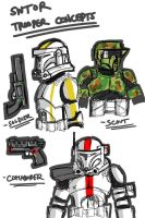 SWTOR trooper concepts by commander-13