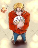 Matt and a Mochi by AkariMarco