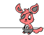 Foxy loves you GIF by burrase