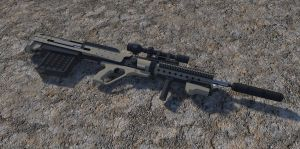 Squad Designated Long Range Rifle by MrJumpManV4