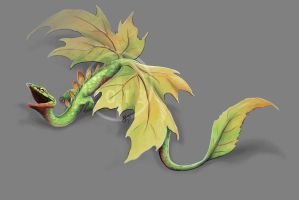 Leaf Drag by DawnFrost