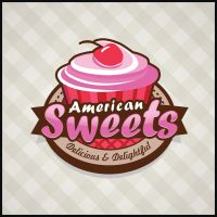 Logotipo Brand - American Sweets by lKaos