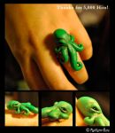 Octopus Ring by MadHatterBata