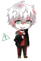 Chibi Unknown [Mystic Messenger] by Shiemi-Hime