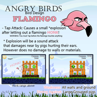 Angry Birds: Flamingo Design by Red-Bunn3h