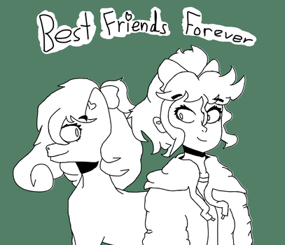 Best Friends Forever (Doodle Version) by Lexyfied