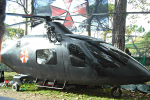 U.M.B.R.E.L.L.A. helicopter by Lynus-the-Porcupine