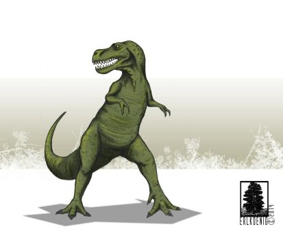 King of the dinosaurs by erlkoenig