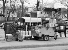 Hot Dogs and Cold Drinks by waitingforlefty