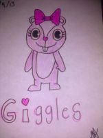 Happy Tree Friends - FanART Giggles by Melanycasg