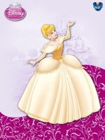 DisneyPrincess-Cinderella2ByGF by GFantasy92