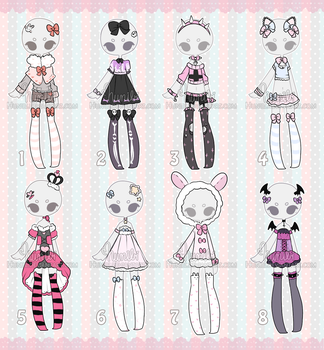 Outfit Adoptable Mix 5 [ CLOSED ] by Hunibi