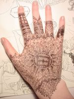 Hand Art Number 1 by sadwonderland