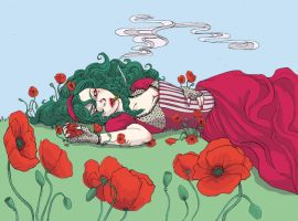 Gentil Coquelicot by chibilou