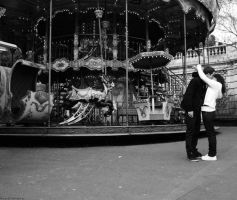 L'amour a montmartre by Royalshake