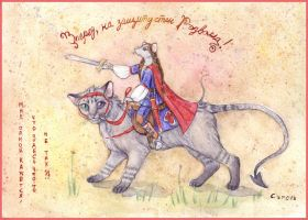Cat-and-mouse in Redwall style by Segol-Hane