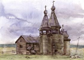 One another Kargopol's church by Katerinich