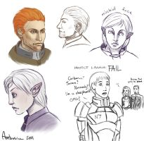 Bioware guys by Ambrosine333