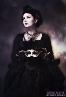 Gothic Beauty by wizz-mccay