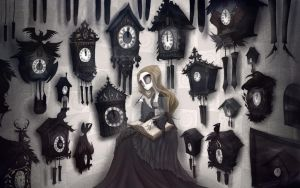 The girl and the soul 06 - I wonder cuckoo clocks by CottonValent