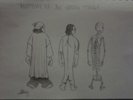 An anatomy of an urban thug. by Jessisacar