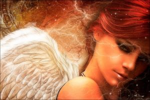 ANGEL IN RED by greenfeed