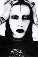 Marilyn Manson by Death-pledge