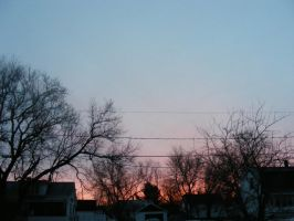March 19th sunrise 2 by BlueIvyViolet