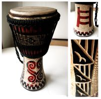 Sankofa Djembe by e-will