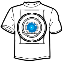 Portal 2 Wheatley T-Shirt by TheZeis