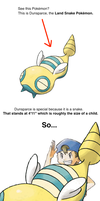 Dunsparce's Height by DigitalPear