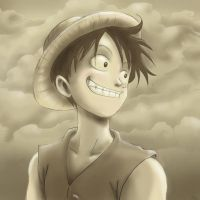 OP- Monkey D. Luffy by Aedua