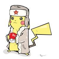 Pikachu...Comrade by the-lagz