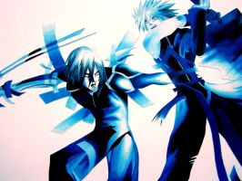 Final Fantasy Advent Children by viciousoul