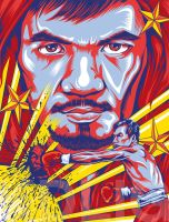 Nike poster - Manny Pacquiao by KDLIG