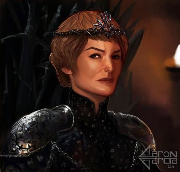 Queen Cersei Lannister first of her name by AaronGarcia